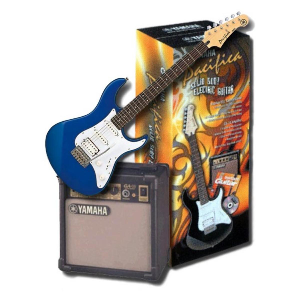 yamaha pacifica 012 pack guitare lectrique bleu. Black Bedroom Furniture Sets. Home Design Ideas