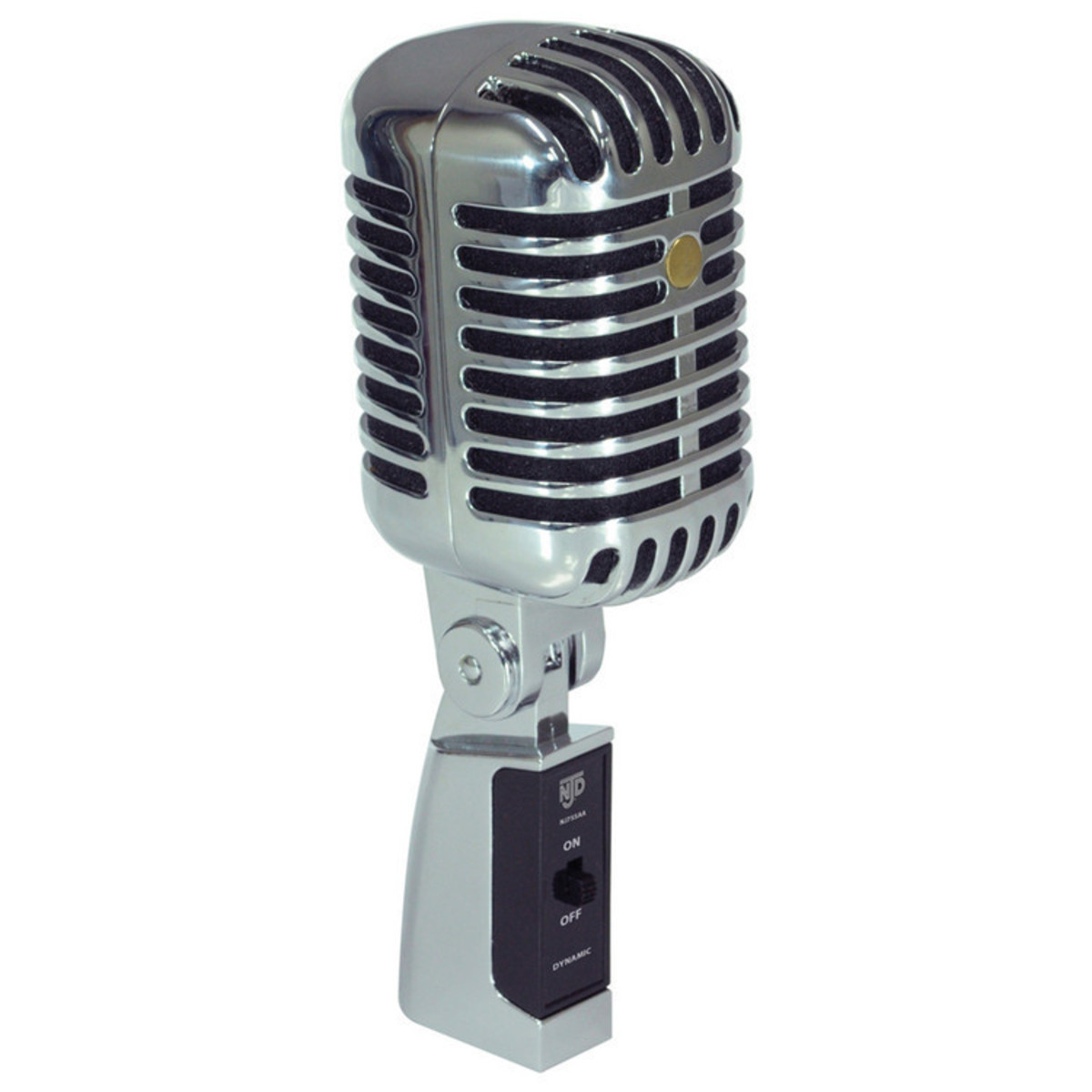njd professional retro style microphone at