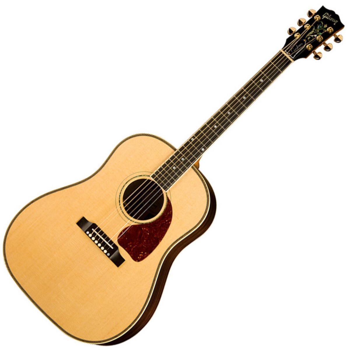 disc gibson j 45 custom rosewood electro acoustic guitar natural at. Black Bedroom Furniture Sets. Home Design Ideas