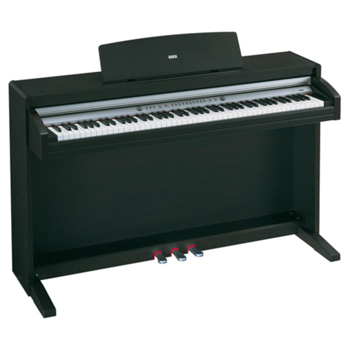 puis korg c 320 piano num rique palissandre. Black Bedroom Furniture Sets. Home Design Ideas