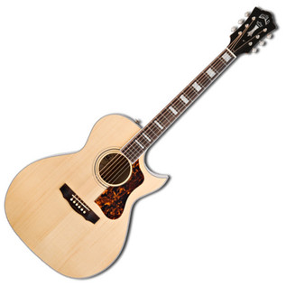 Guild F-47MC Grand Orchestra Cutaway Electro Acoustic Guitar, Blonde