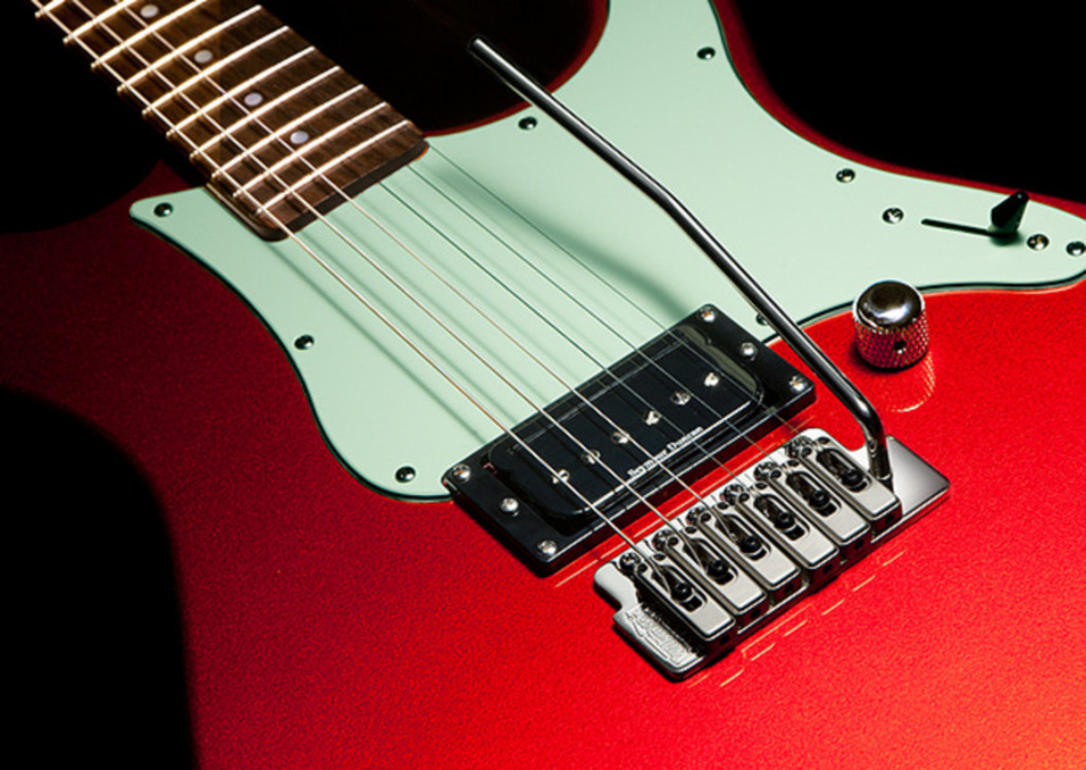 Red Yamaha Pacifica