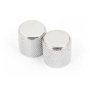 Fender Telecaster/Precision Bass Knurled Control Knobs, Chrome