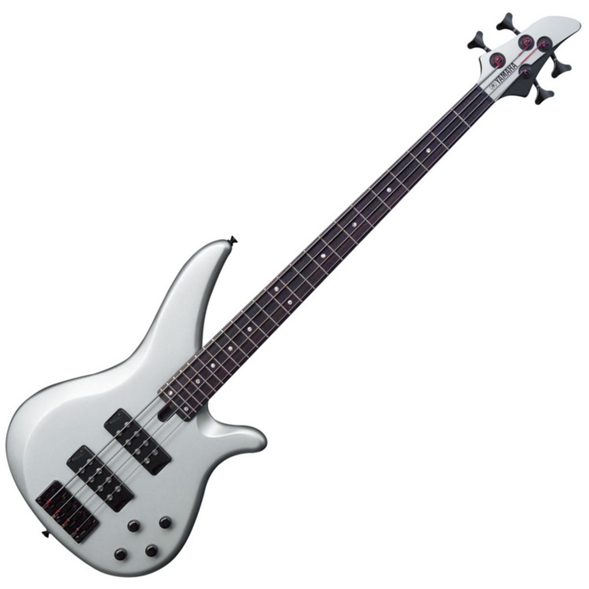 disc yamaha rbx374 bass guitar flat silver at. Black Bedroom Furniture Sets. Home Design Ideas