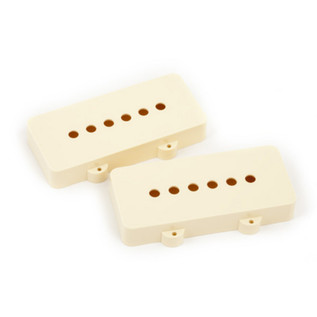 Fender Jazzmaster Pickup Covers, Aged White