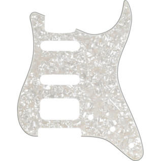 Fender 11-Hole Modern-Style Stratocaster Pickguard, H/S/S White Pearl