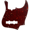Fender 10-Hole Contemporary Jazz Bass Pickguard, 4-Ply Tortoise Shell
