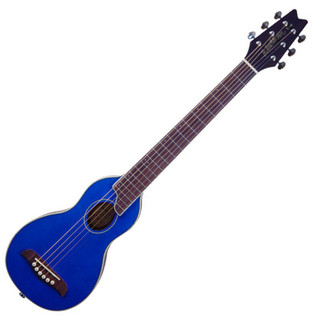 Washburn Rover RO10 Travel Acoustic Guitar, Blue