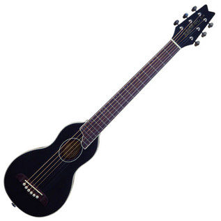 Washburn Rover RO10 Travel Acoustic Guitar, Black