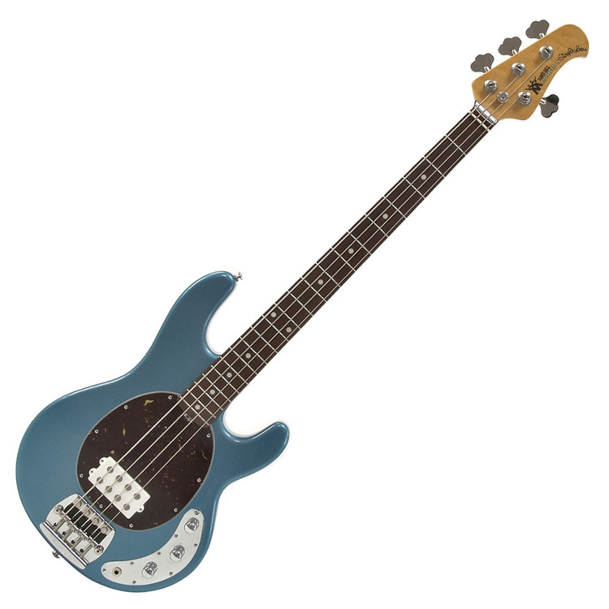 music man stingray classic 4 bass guitar rn lake tahoe blue at. Black Bedroom Furniture Sets. Home Design Ideas