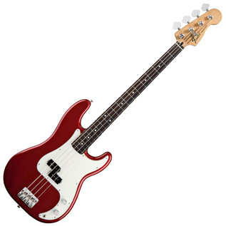 Fender Standard Precision Bass, RW, Candy Apple Red