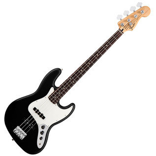 Fender Standard Jazz Bass Guitar, RW, Black
