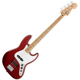 Fender Standard Jazz Bass Guitar, MN, Candy Apple Red