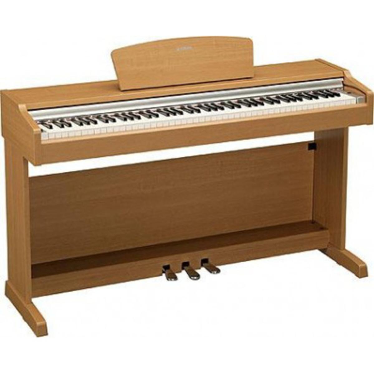 Disc yamaha ydp131c digital piano cherry at for Yamaha dgx640c digital piano cherry