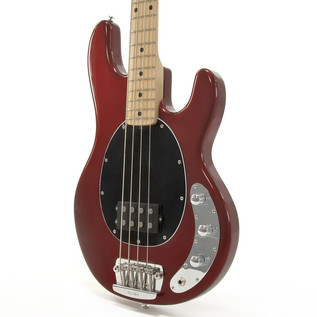 music man stingray 2eq bass guitar mn candy red with gigbag at. Black Bedroom Furniture Sets. Home Design Ideas
