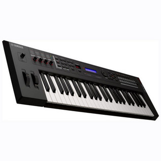 Yamaha MX49 Music Production Synthesizer Angle