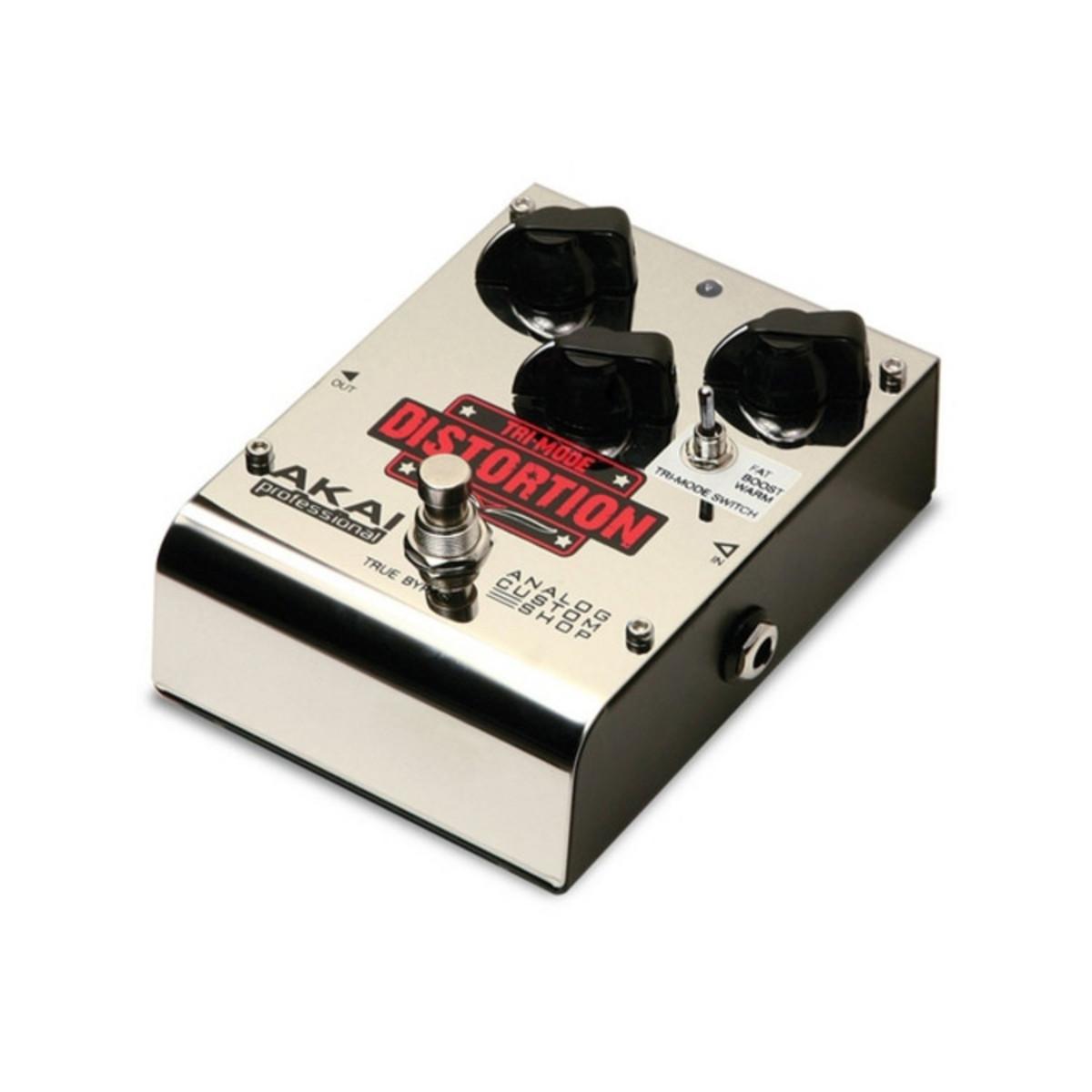 Akai Tri-Mode Distortion Guitar Effect Pedal at Gear4music.com