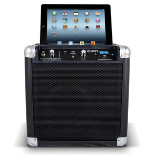 ION Tailgater Bluetooth Compact Speaker with Wireless Technology with iPad