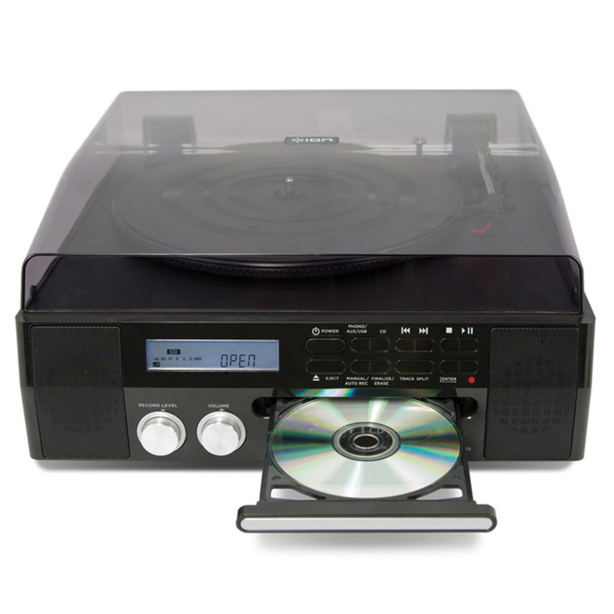 ION CD Direct Digital Turntable With Built-In CD Recorder