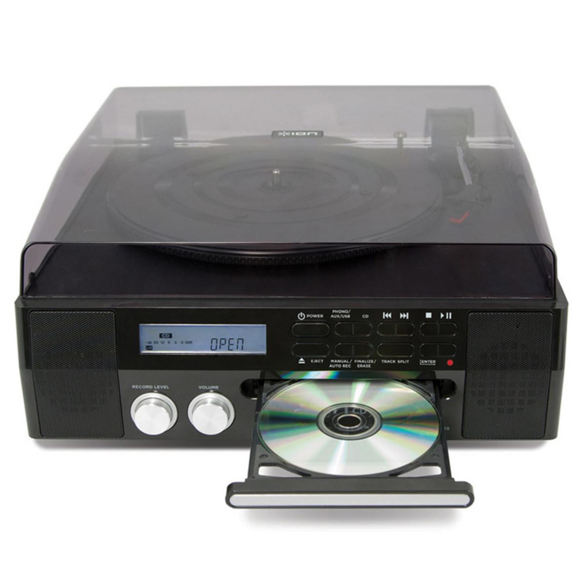Giradischi Digitale Ion Cd Direct Con Lettore Cd Integrato