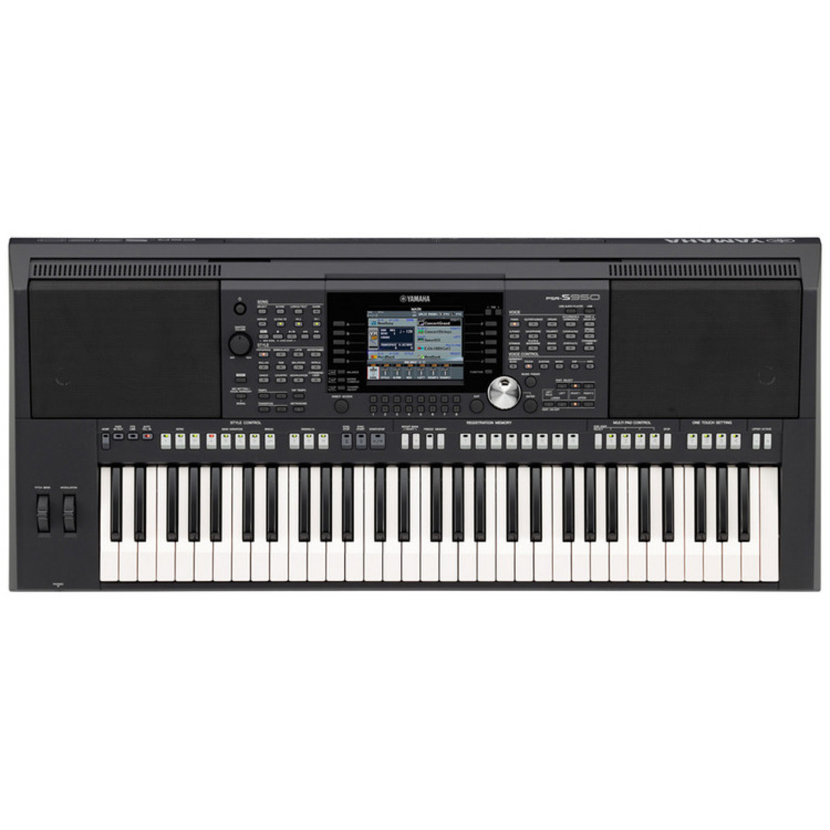 disc yamaha psr s950 keyboard workstation at. Black Bedroom Furniture Sets. Home Design Ideas