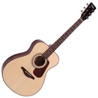 Vintage V1300 All-Solid Folk Acoustic Guitar, Natural