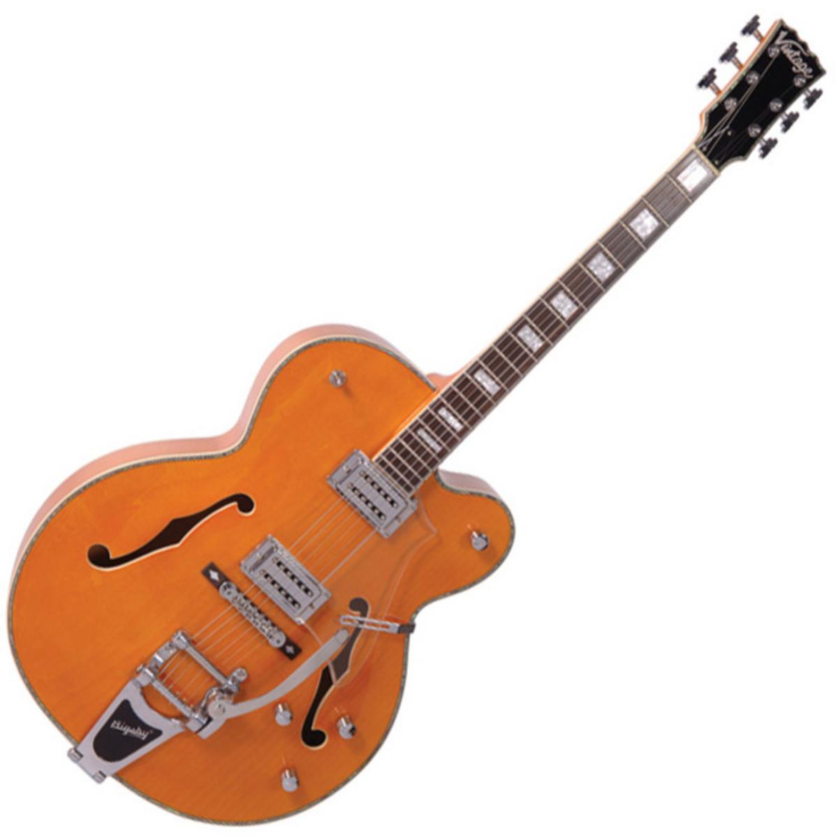 Ventas de guitarra vintage condado de naranja