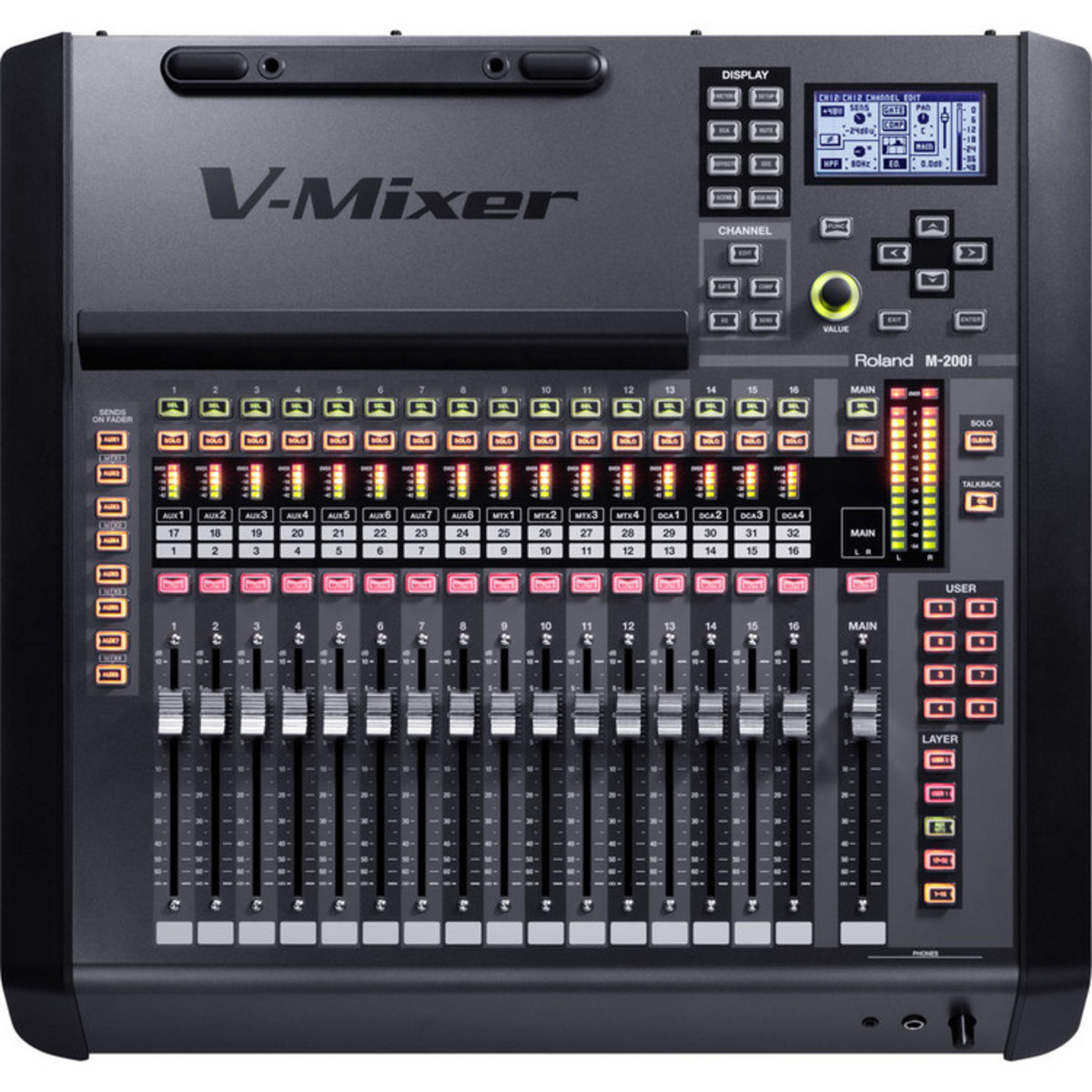 Roland M 200i Console De Mixage Num 233 Rique 224 Gear4music Com