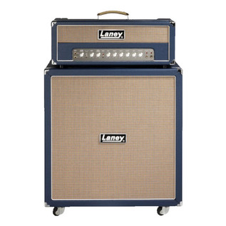 Laney L-50H Lionheart Head + L412 Cabinet Bundle, Made In The UK