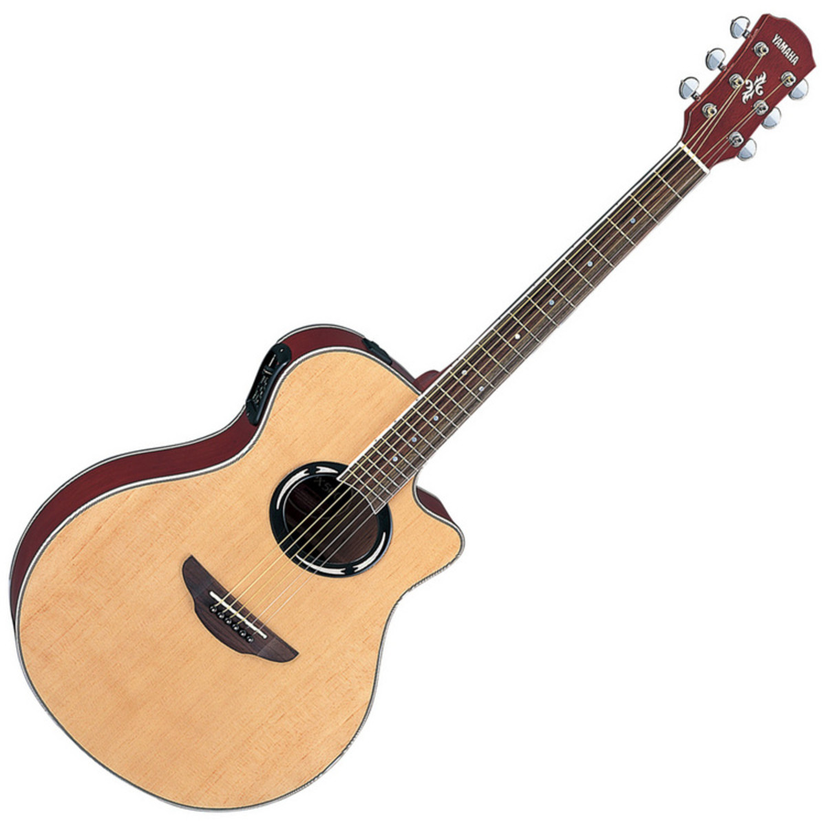 disc yamaha apx500 electro acoustic guitar natural at. Black Bedroom Furniture Sets. Home Design Ideas