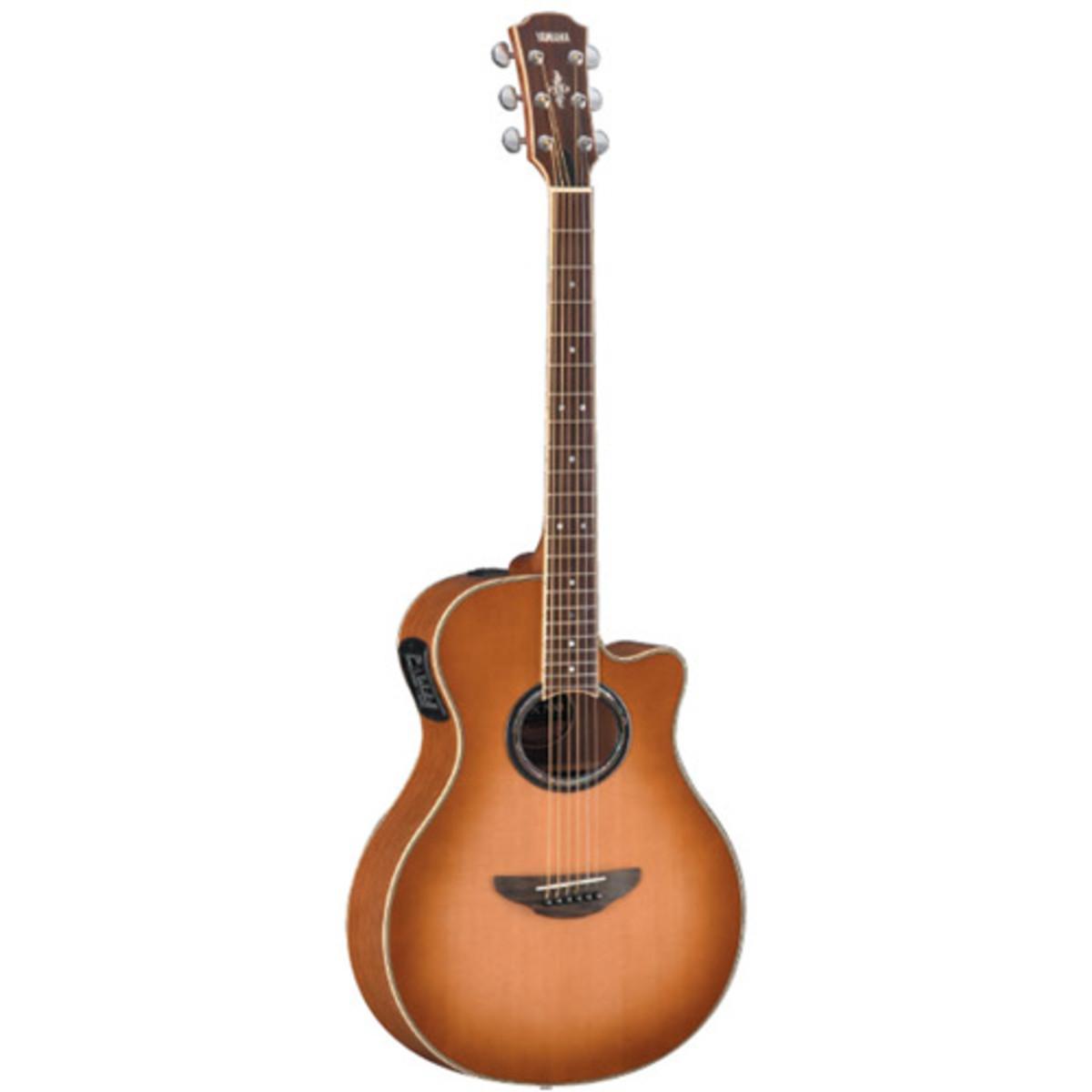 yamaha apx700 guitare electro acoustique sunburst. Black Bedroom Furniture Sets. Home Design Ideas