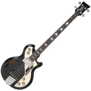 Italia Mondial Classic Bass Guitar, Black