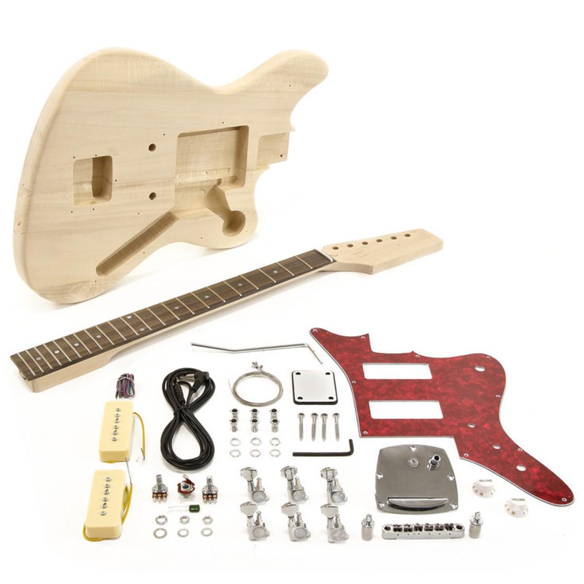 seattle jazz electric guitar diy kit at. Black Bedroom Furniture Sets. Home Design Ideas