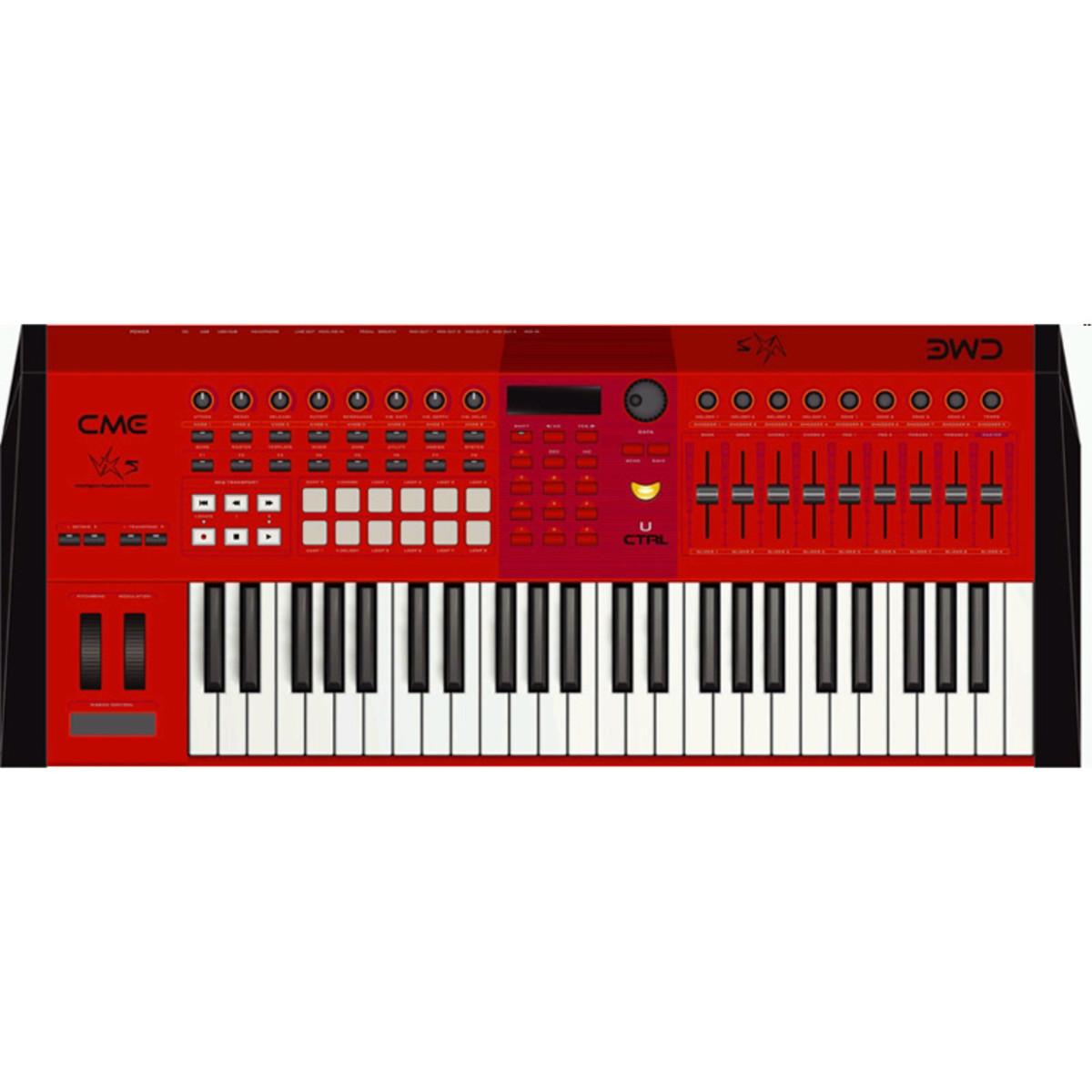 cme vx5 midi controller keyboard at. Black Bedroom Furniture Sets. Home Design Ideas