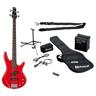 Ibanez IJSR190E Jump Start Bass Pack, Red