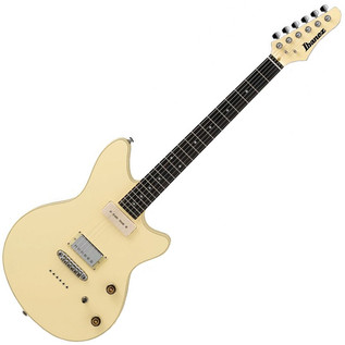 Ibanez CMM1 Chris Miller Signature Electric Guitar, Ivory
