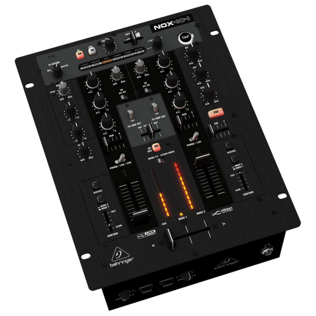behringer nox404 dj pro mixer nearly new at. Black Bedroom Furniture Sets. Home Design Ideas