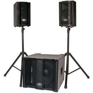 Peavey Triflex II Active PA System With Subwoofer
