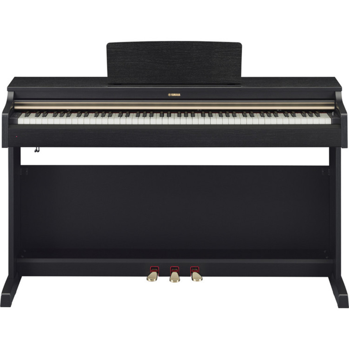 Yamaha arius ydp162b digital piano black walnut nearly for Yamaha ydp 162 digital piano