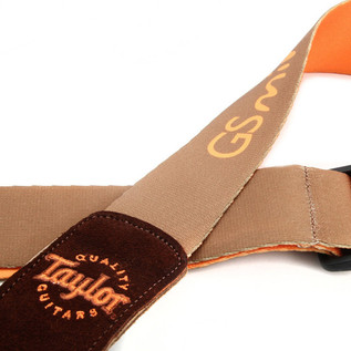 Taylor GS Mini Guitar Strap, Brown 2
