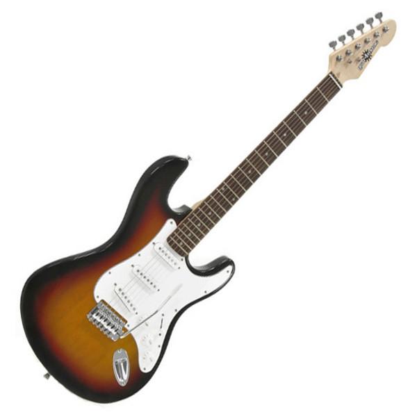 Ubisoft Rocksmith + Electric-ST Guitar, Sunburst PS3 Package