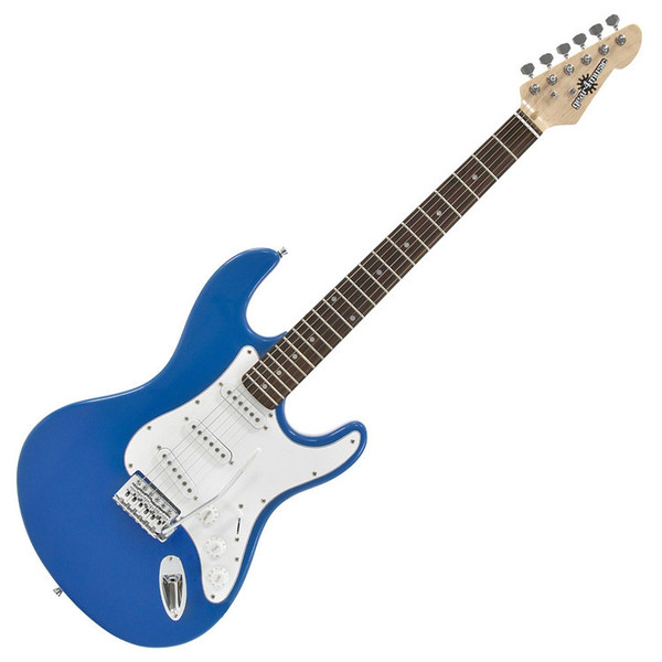 Ubisoft Rocksmith + Electric-ST Guitar, Blue PS3 Package