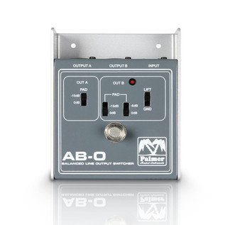 Palmer ABO Balanced Line Output Switch