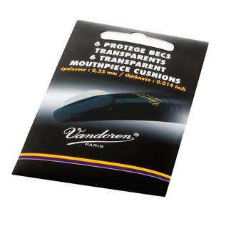Vandoren Mouthpiece Cushions (Pack 6) Thickness 0.35mm-,014