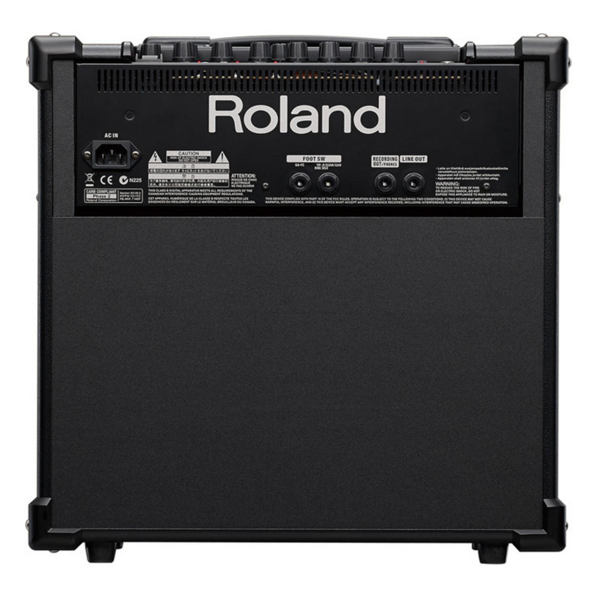 disc roland cube 80gx guitar amplifier at. Black Bedroom Furniture Sets. Home Design Ideas