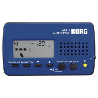 Korg MA-1 Digital Metronome, Blue/Black