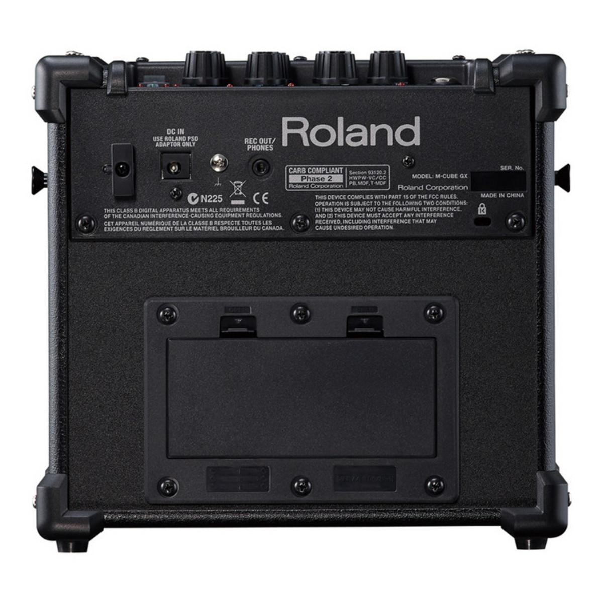 roland micro cube gx guitar amplifier black at. Black Bedroom Furniture Sets. Home Design Ideas
