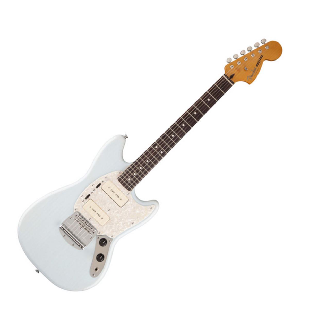 Fender Modern Player Mustang Electric Guitar Daphne Blue