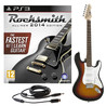 Rocksmith 2014 PS3 + LA Electric Guitar, Sunburst