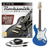 Rocksmith 2014 PS3 + LA Electric Guitar, Blue